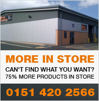 More Products in store - Call 0151 420 2566