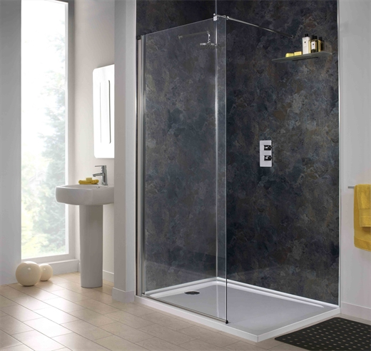 Mineral oxide shower wall for Mineral wall