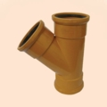 110mm Triple Socket 45 Branch