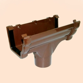 brown-ogee-gutter-running-outlet