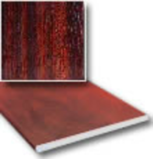 9mm X 5m Flat Soffit Boards In Mahogany