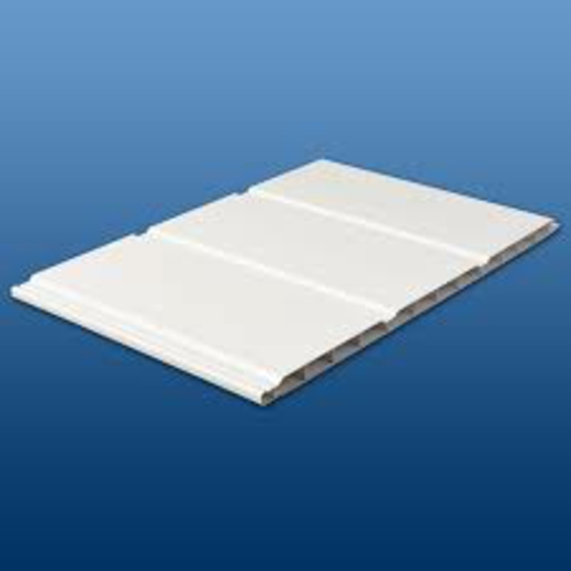 300mm X 5m Hollow Soffit Boards In White