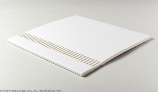 9mm X 5m Vented Soffit Board White